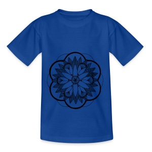 Pond Bouquet Mandala - Kids' T-Shirt