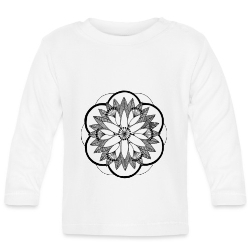 Pond Bouquet Mandala - Baby Long Sleeve T-Shirt