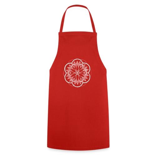 White Pond Bouquet Mandala - Cooking Apron