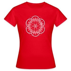 White Pond Bouquet Mandala - Women's T-Shirt