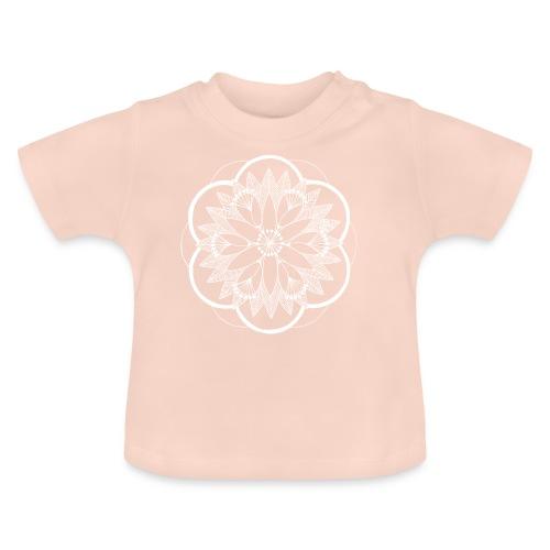 White Pond Bouquet Mandala - Baby T-Shirt