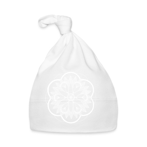 White Pond Bouquet Mandala - Baby Cap