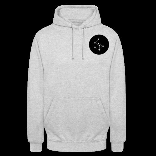 Lan Circle Man Shirt Black - Unisex Hoodie
