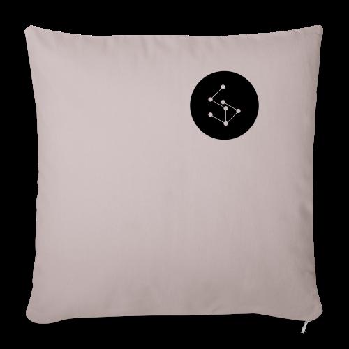 Lan Circle Man Shirt Black - Sofa pillowcase 17,3'' x 17,3'' (45 x 45 cm)