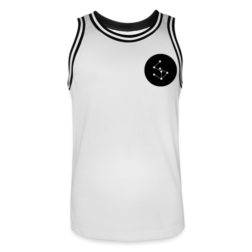 Lan Circle Man Shirt Black - Men's Basketball Jersey