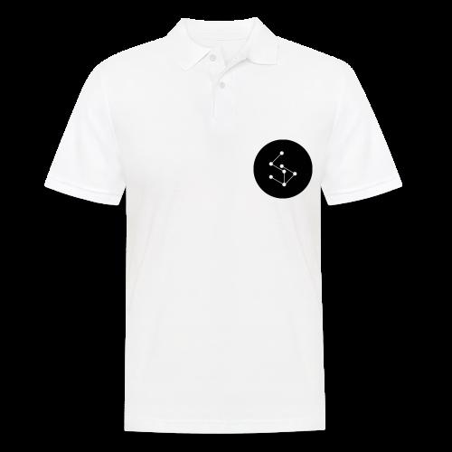 Lan Circle Man Shirt Black - Men's Polo Shirt