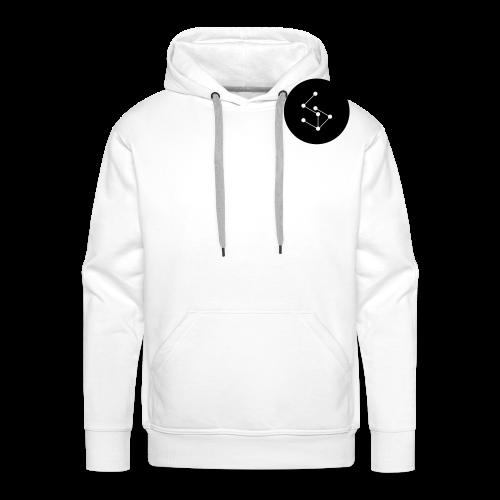 Lan Circle Man Shirt Black - Men's Premium Hoodie