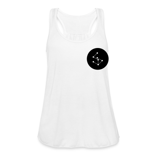 Lan Circle Man Shirt Black - Women's Tank Top by Bella
