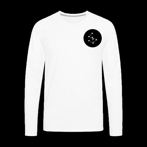 Lan Circle Man Shirt Black - Men's Premium Longsleeve Shirt