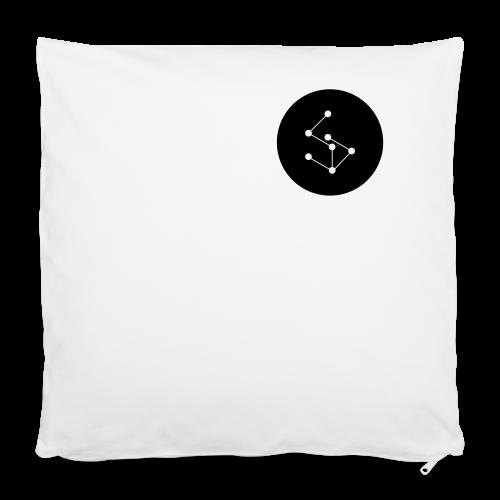 "Lan Circle Man Shirt Black - Pillowcase 16"" x 16"" (40 x 40 cm)"