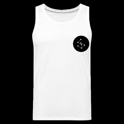 Lan Circle Man Shirt Black - Men's Premium Tank Top