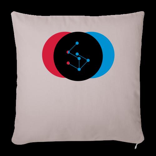 Lan Circle Woman Shirt - Sofa pillowcase 17,3'' x 17,3'' (45 x 45 cm)