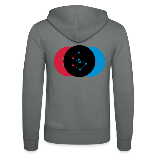 Lan Circle Woman Shirt - Unisex Hooded Jacket by Bella + Canvas