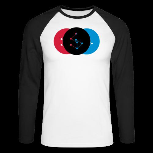 Lan Circle Woman Shirt - Men's Long Sleeve Baseball T-Shirt