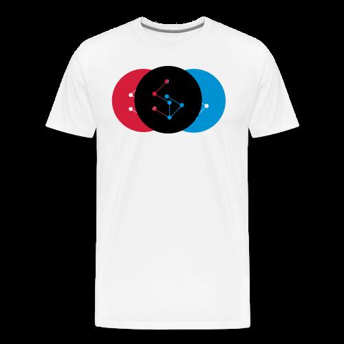 Lan Circle Woman Shirt - Men's Premium T-Shirt