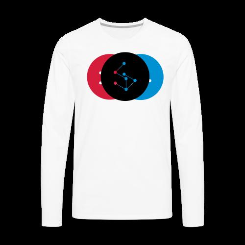 Lan Circle Woman Shirt - Men's Premium Longsleeve Shirt