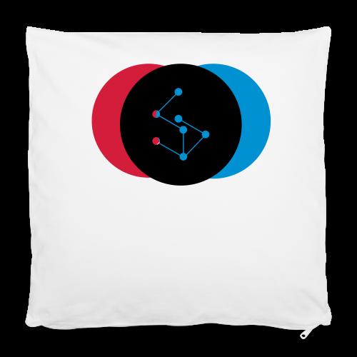 """Lan Circle Woman Shirt - Pillowcase 16"""" x 16"""" (40 x 40 cm)"""
