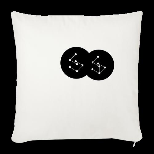 Lan Circle Hoodie - Sofa pillowcase 17,3'' x 17,3'' (45 x 45 cm)