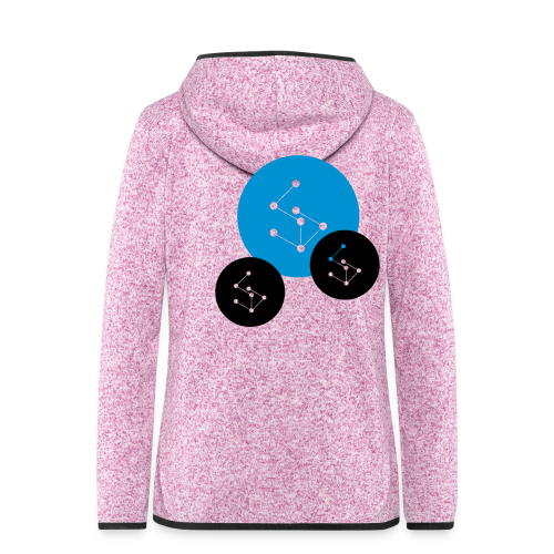 Lan Circle Hoodie - Women's Hooded Fleece Jacket
