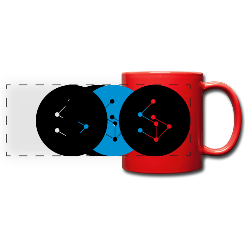 Lan Circle Hoodie - Full Color Panoramic Mug