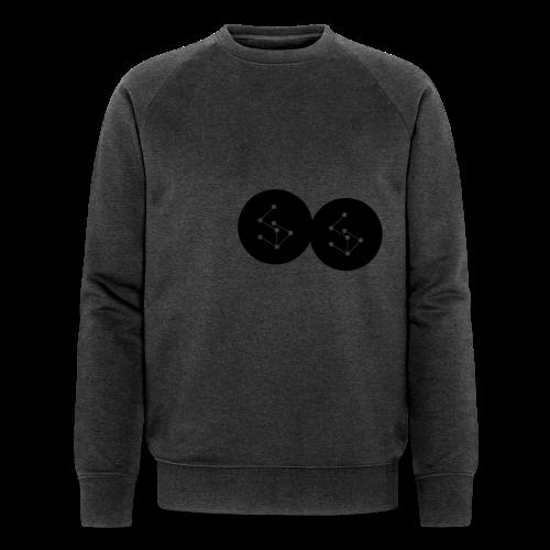 Lan Circle Hoodie - Men's Organic Sweatshirt by Stanley & Stella