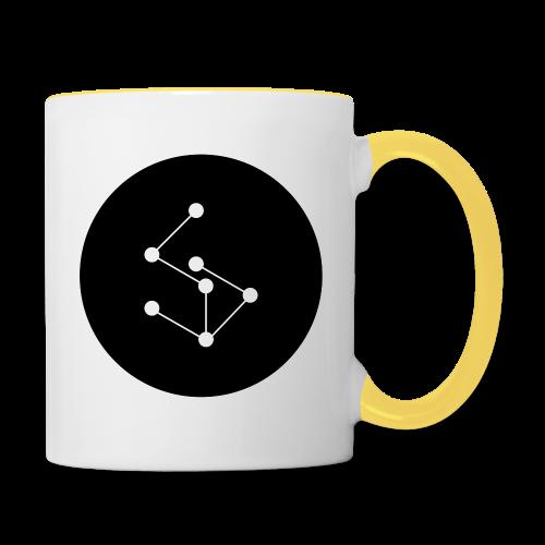 Lan Circle Hoodie - Contrasting Mug