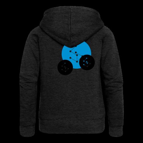 Lan Circle Hoodie - Women's Premium Hooded Jacket
