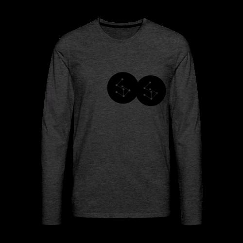 Lan Circle Hoodie - Men's Premium Longsleeve Shirt