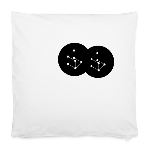 """Lan Circle Hoodie - Pillowcase 16"""" x 16"""" (40 x 40 cm)"""