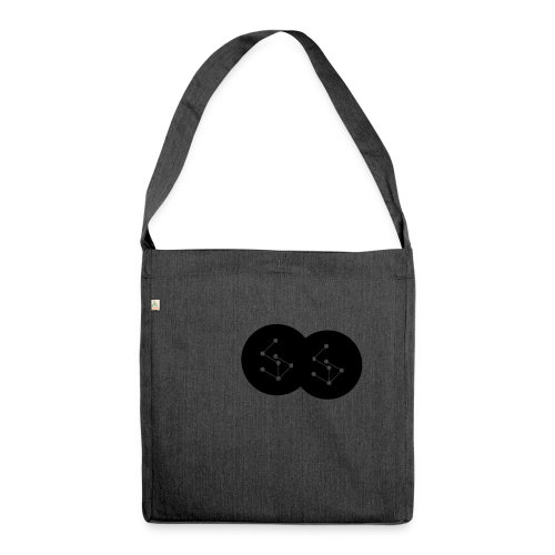 Lan Circle Hoodie - Shoulder Bag made from recycled material