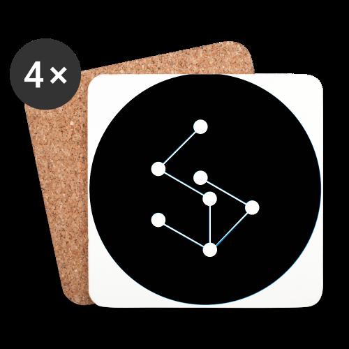 Lan Circle Hoodie - Coasters (set of 4)