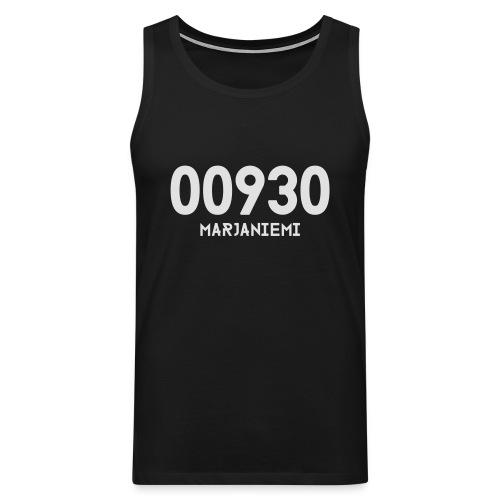 00930 MARJANIEMI - Miesten premium hihaton paita