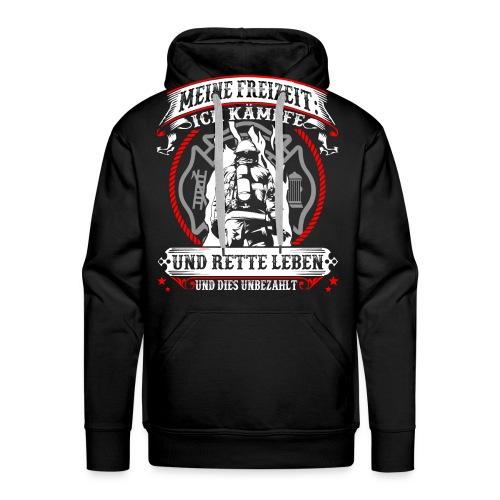 Feuerwehr - Leben retten - Männer Premium Hoodie