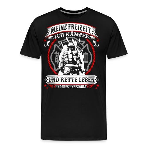 Feuerwehr - Leben retten - Männer Premium T-Shirt