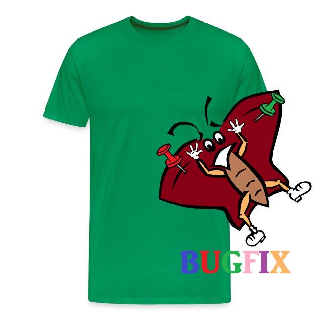 """T-Shirt """"Bugfix"""" für Männer"""