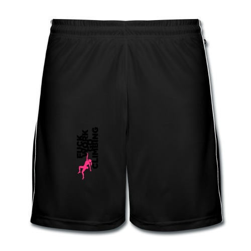 Fuck Work. Go Climbing Girl! - Men's Football shorts