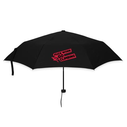 Fuck Work. Go Climbing Men! - Umbrella (small)