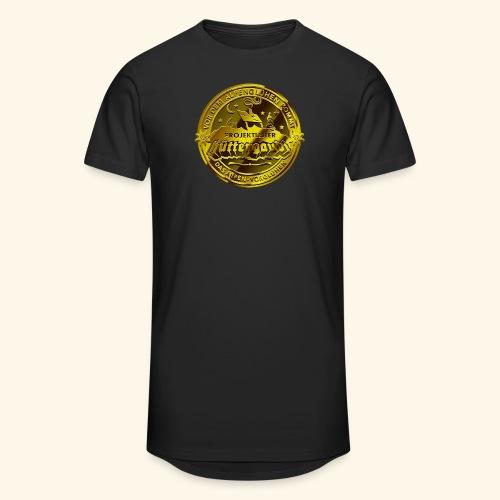 Projektleiter Hüttengaudi T-Shirts - Männer Urban Longshirt