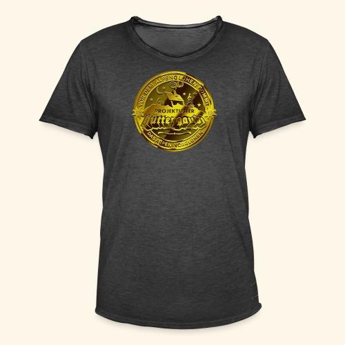 Projektleiter Hüttengaudi T-Shirts - Männer Vintage T-Shirt