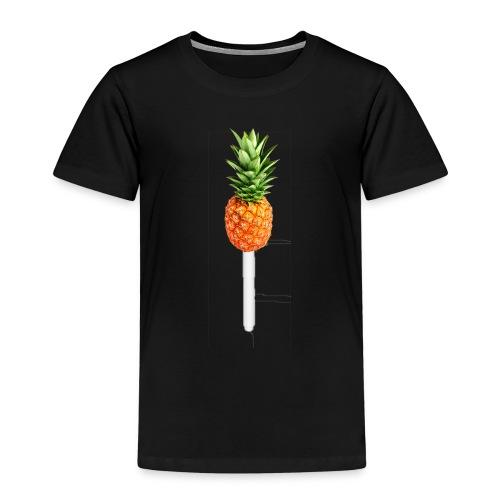 Pineapple Pen Hoodie - Kinder Premium T-Shirt