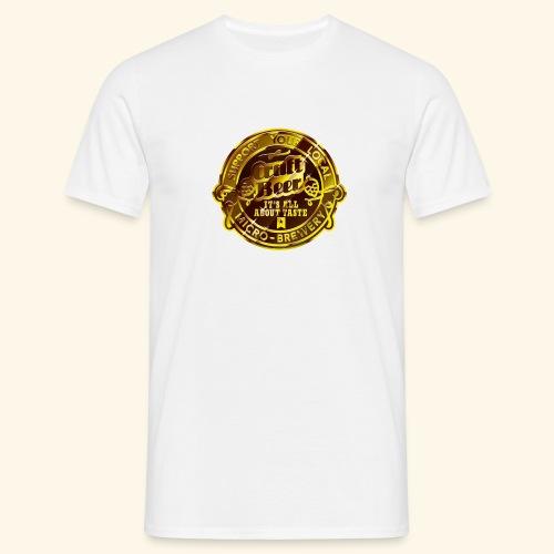 spassprediger.de presents: Craft Beer - Männer T-Shirt