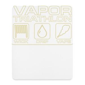 Vapor Triathlon - Mousepad (Hochformat)