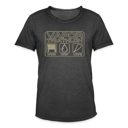 Vapor Triathlon - Männer Vintage T-Shirt