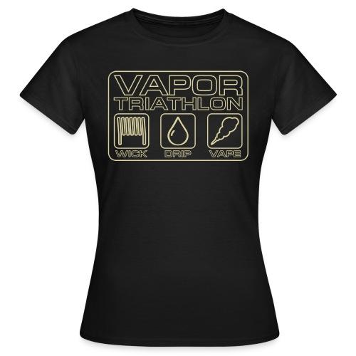 Vapor Triathlon - Frauen T-Shirt