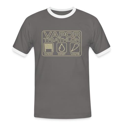Vapor Triathlon - Männer Kontrast-T-Shirt
