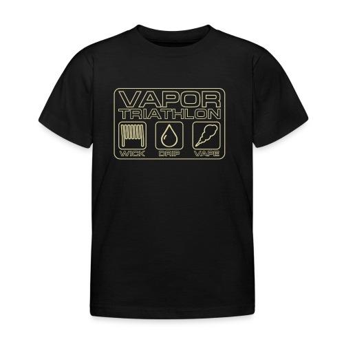 Vapor Triathlon - Kinder T-Shirt