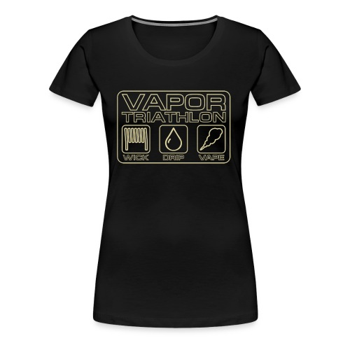 Vapor Triathlon - Frauen Premium T-Shirt