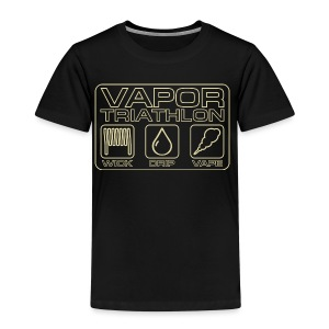 Vapor Triathlon - Kinder Premium T-Shirt