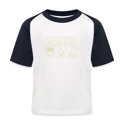 Vapor Triathlon - Kinder Baseball T-Shirt