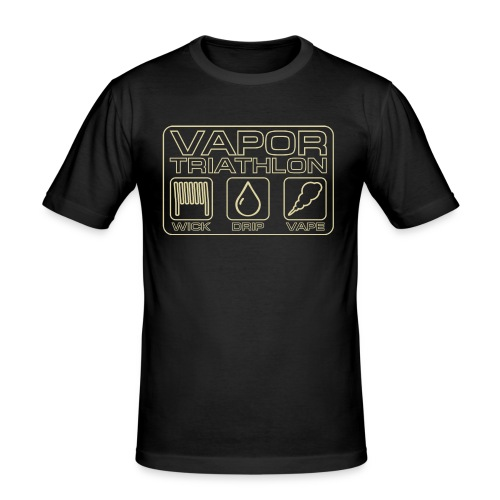 Vapor Triathlon - Männer Slim Fit T-Shirt